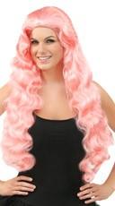 Wavy Pale Pink Wig