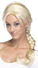 Braided Blonde Wig