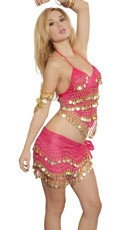 Belly Dancing Babe Costume