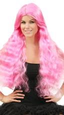 Wavy Hot Pink Wig