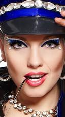 Cuffed Police Costume Eye Kit