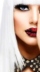 Red Zebra Lip Sticker