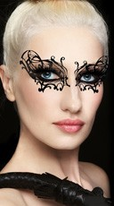 Black Widow Eye Mask