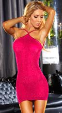 Neon Pink VIP Mini Dress