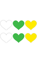 Neon Heart Pasties