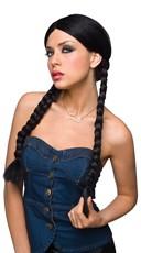 Black Dorothy Pigtailed Wig