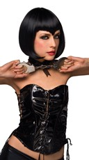 Black Vampire Vixen Bob Wig