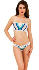 Ice Babe Underwire Bra Top and Thong