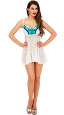 Flirty Ice Goddess Chemise