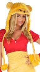 Golden Bear Costume Hood
