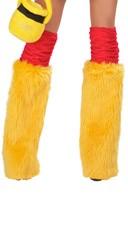 Golden Bear Costume Legwarmers
