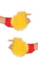 Golden Bear Costume Gloves