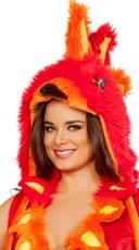 Phoenix Bird Hood