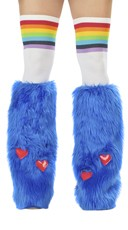 Royal Blue Rave Bear Legwarmers