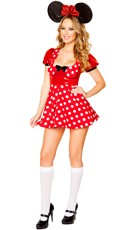 Polka Dot Mouse Costume