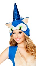 Spiked Blue Animal Hat