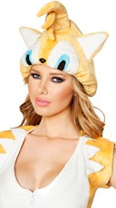Yellow Animal Hood