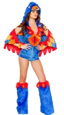 Sexy Parrot Costume