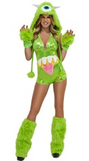 Green Furry Costume