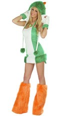 Green Dinosaur Costume