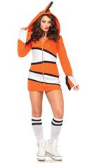 Cozy Orange Fish Costume