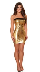 Gold Credit Card Costume