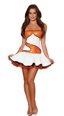 Sequin Clownfish Costume
