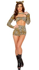 Pin-Up Sexy Cheetah Costume