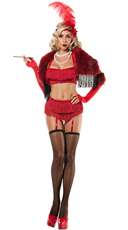 Ruby Flapper Costume