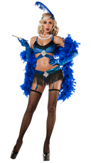 Sapphire Flapper Costume