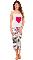 Polka Dot Love Affair Cami and Capri Set