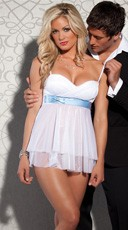 Bridal Babydoll with G-String