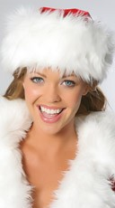 Fur Santa Hat