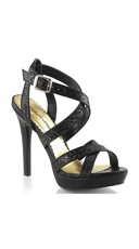 Strappy Glitter Sandals