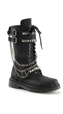 Women's Chained Combat Boots