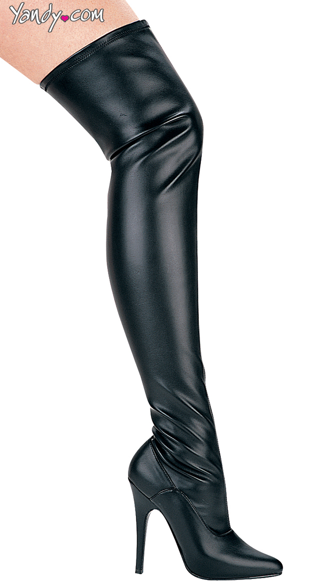 608254dca Women's Thigh High Boots, Thigh Boots, Leather Thigh High Boots