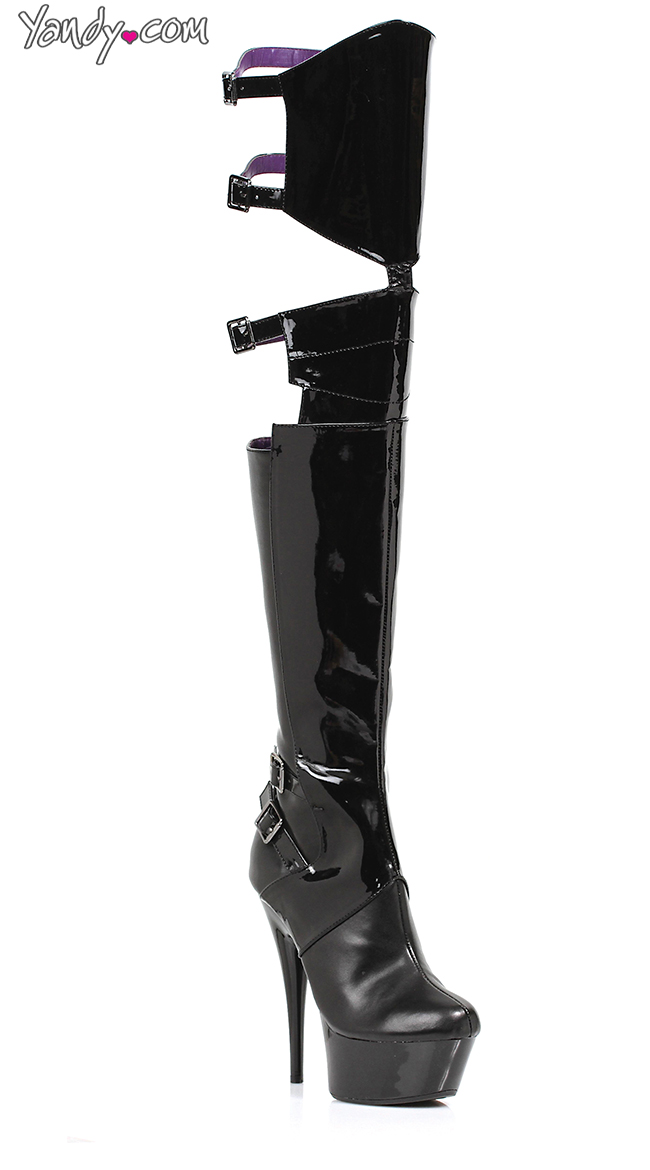 33eee76efc4 Women's Thigh High Boots, Thigh Boots, Leather Thigh High Boots