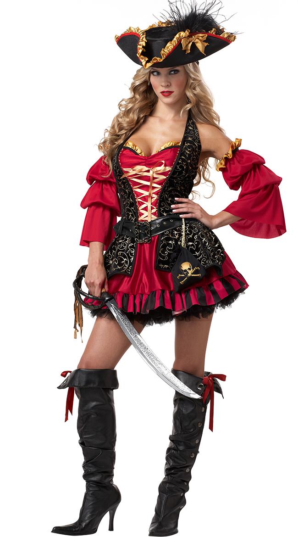 Plus Size Spanish Pirate Costume
