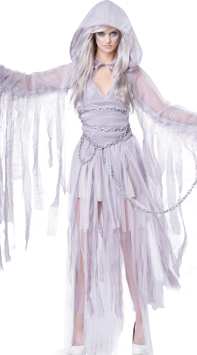 Haunting Beauty Costume, Sexy Ghost Costume, Sexy Ghoul Costume