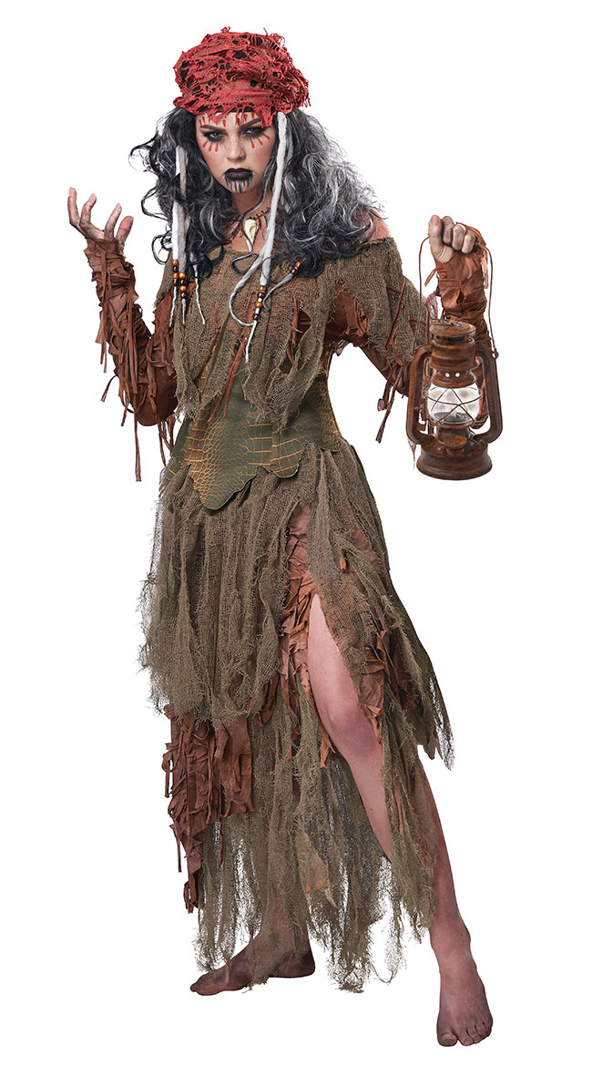 Voodoo Swamp Witch Costume Scary Witch Costume Yandy Com
