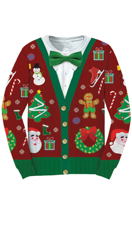 3x Ugly Christmas Sweater.Ugly Christmas Sweater Funny Christmas Sweaters Ugly