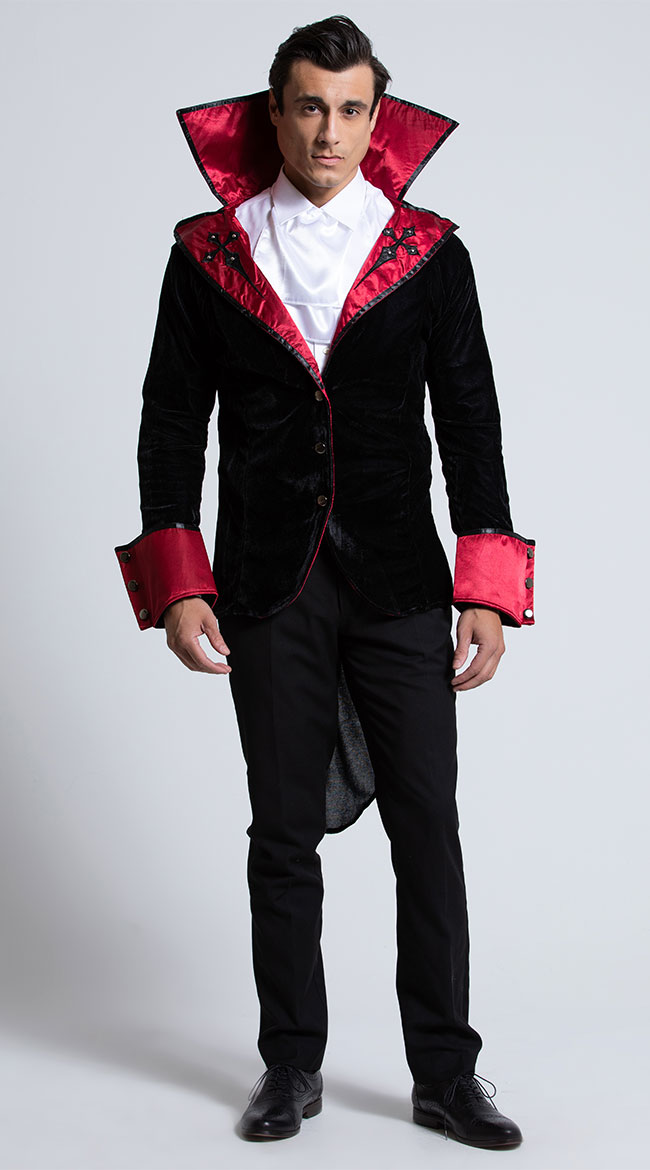 2d382d891be Men's Vampire Costumes: Dracula & Other Scary Bloodsuckers | Yandy