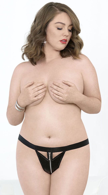 Plus Size String Panties Photos