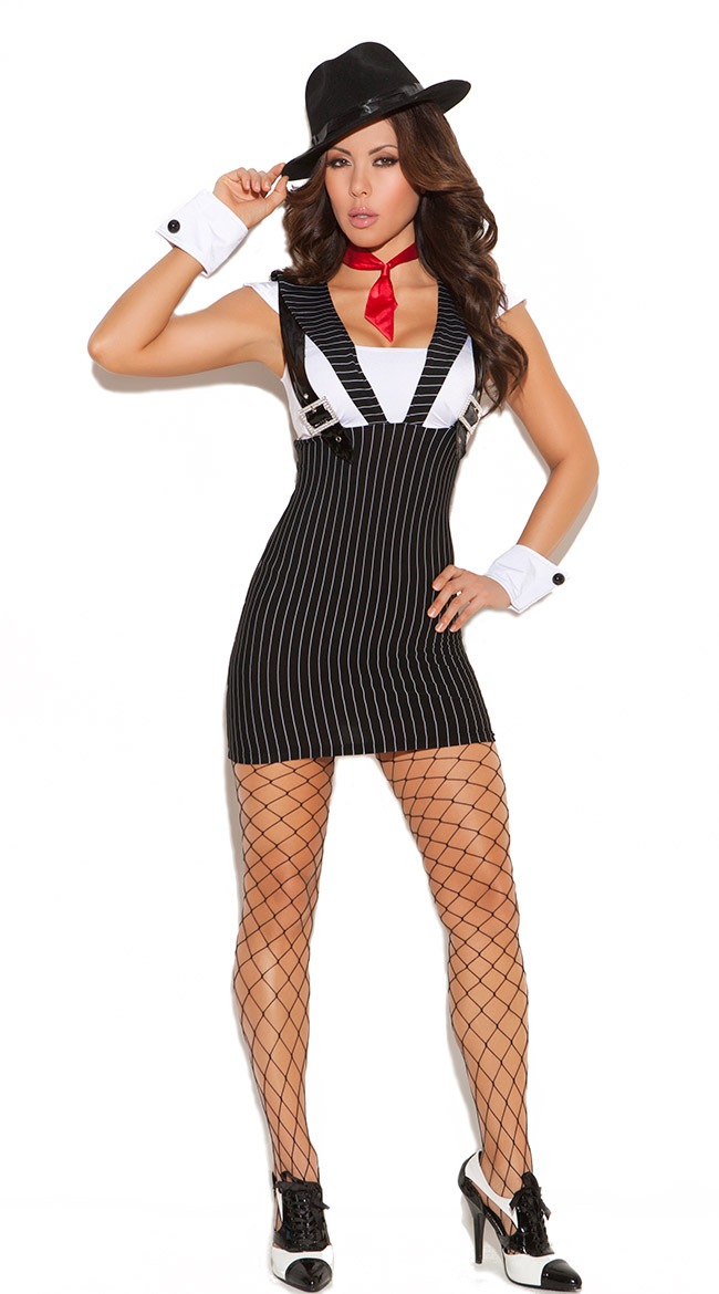 gangsta girl costume quick view - Halloween Mobster Costumes