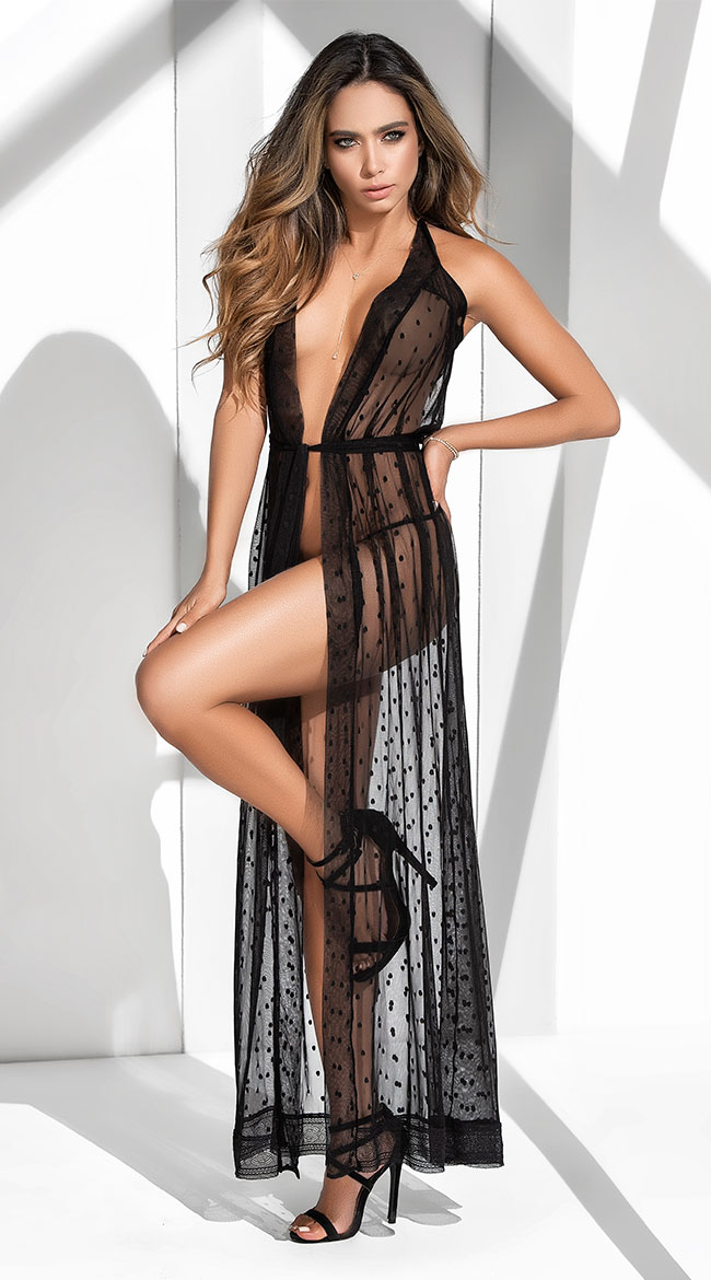 7c59070ca430 Women's Robes: Sexy Lingerie Robes, Silk Robes, Sheer Robes & More