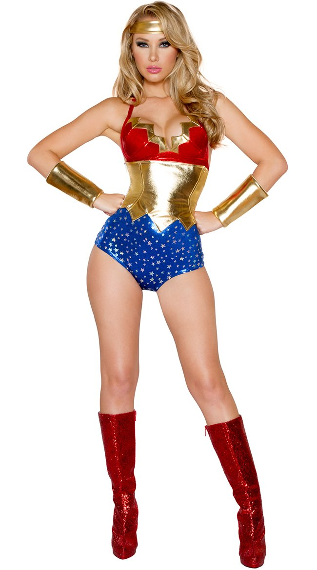 Sexy American Woman Costume by