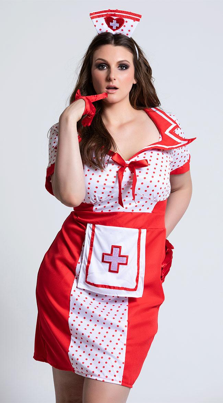 a276de9d5 Plus Size Bedside Betty Costume
