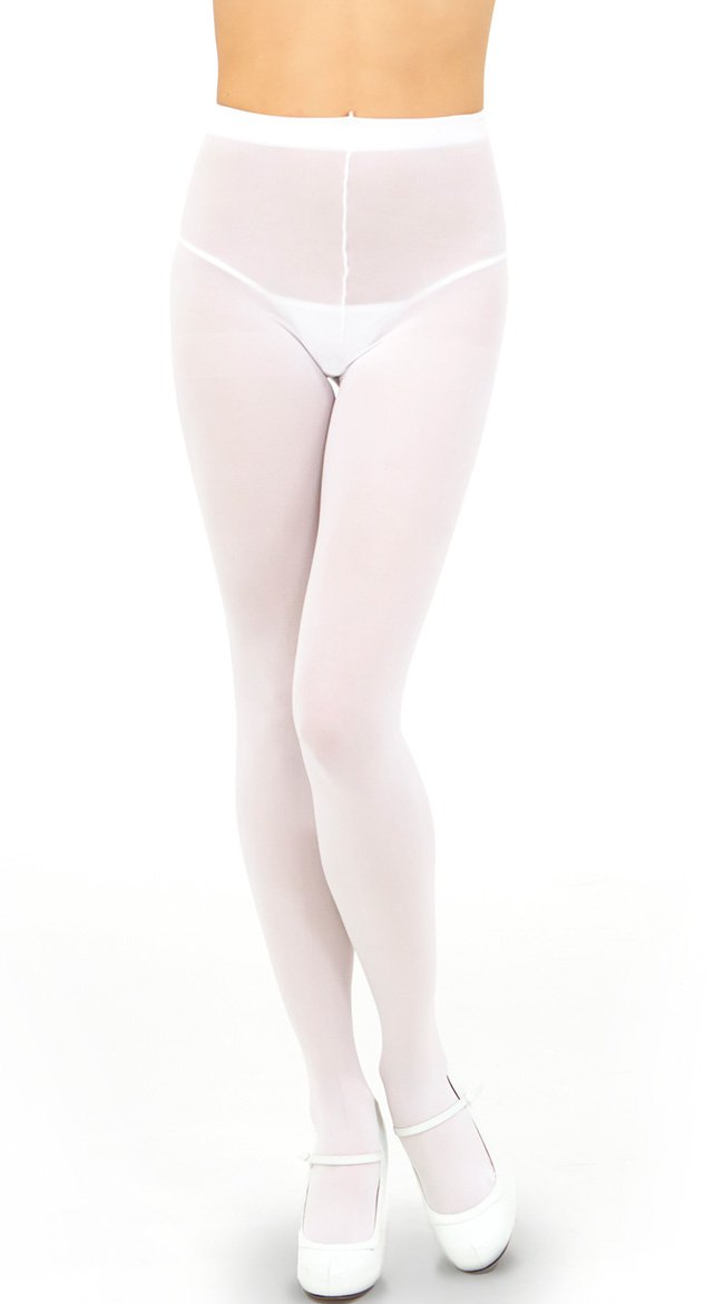 Opaque mid-rise, control-top tights will look sleek under your winter dresses and skirts. neyschelethel.ga, neyschelethel.ga Promising review: