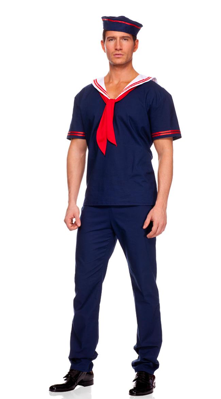 mens ahoy sailor costume sailor halloween costume sailor costumes men - Sailors Halloween Costumes