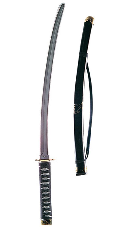 Plastic Japanese Ninja Sword Costume Accessory